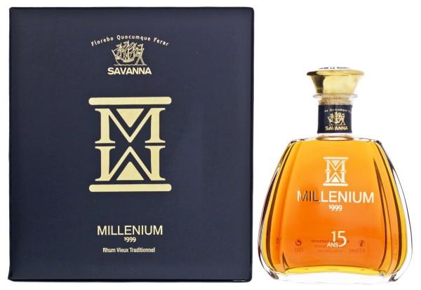 Savanna Millenium Rhum Vieux Traditionnel 1999 15 Jahre 0,7L 43%