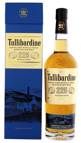 Tullibardine Single Malt Whisky 225 Sauternes Finish 0,7L 43%