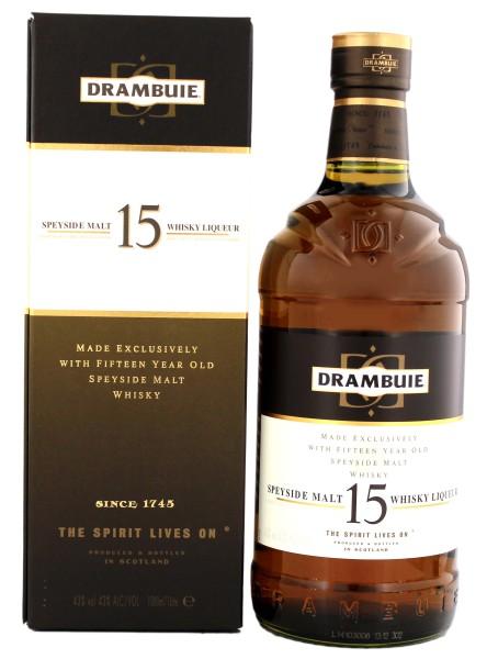 Drambuie whisky liqueur 15 Jahre
