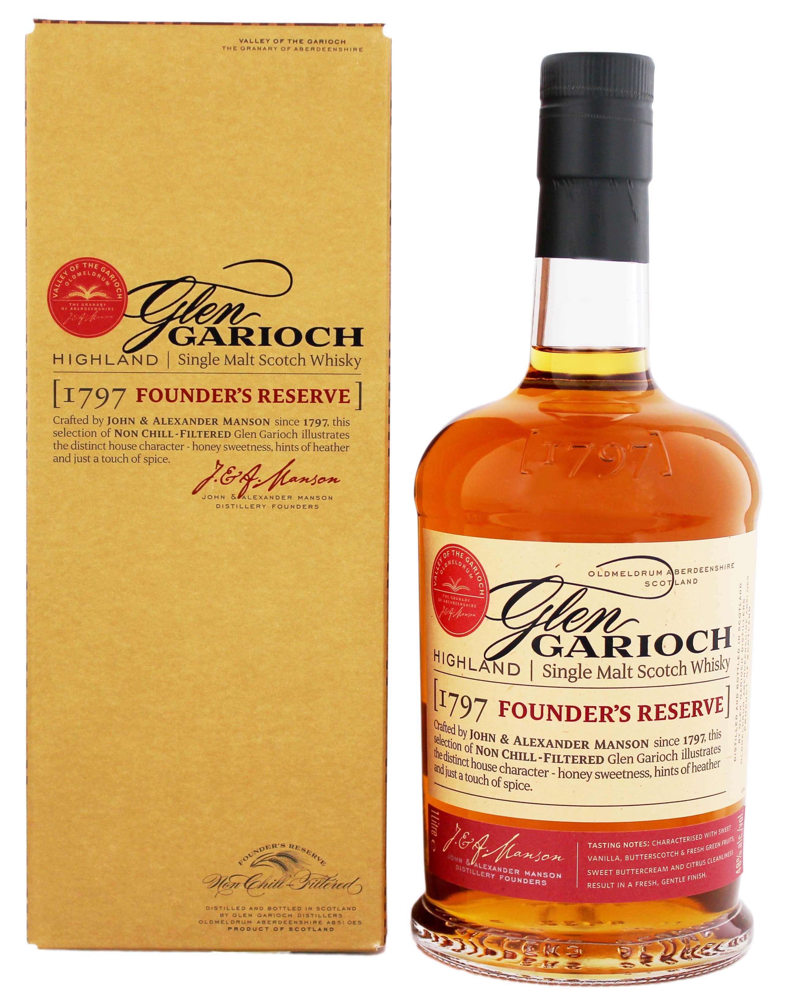 Glen Garioch Malt Whisky Founders Reserve kaufen! Whisky Online Shop