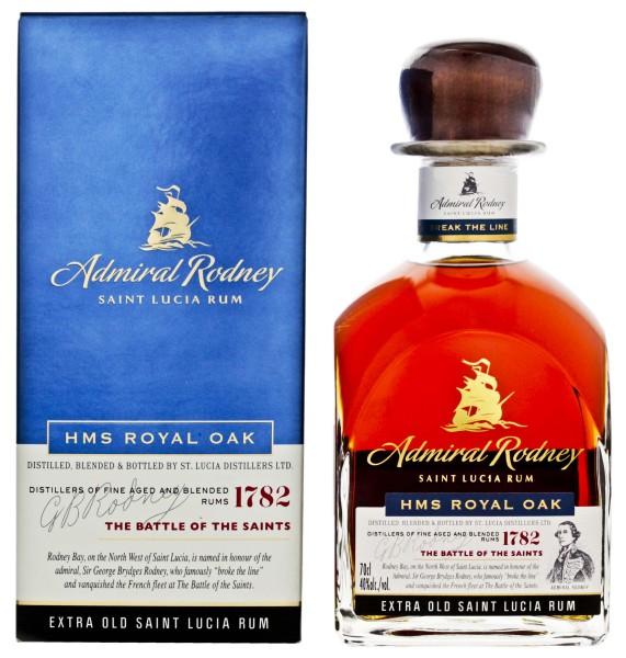 Admiral Rodney HMS Royal Oak Extra Old Rum 0,7L 40%