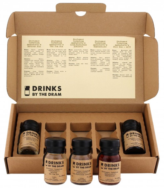 Professor Cornelius Ampleforth's Drinks by the Dram Set