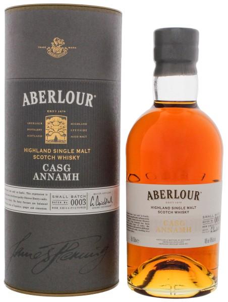 Aberlour Casg Annamh Batch 3 Non Chill Filtered 0,7L 48%