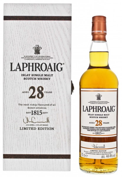 Laphroaig Islay Single Malt Whisky 28 Jahre 0,7L 44,4%