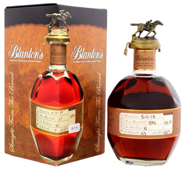 Blanton Straight from the Barrel 0,7L 65,7%