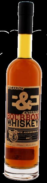 St. George Breaking & Entering Bourbon 0,7L 43%
