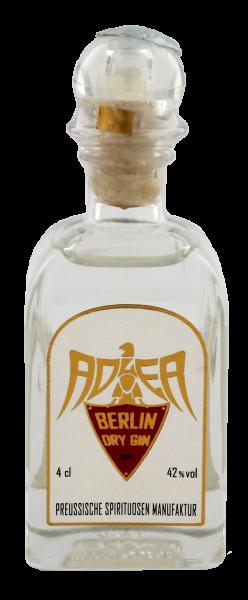 Adler Berlin Dry Gin Miniatur 0,04 L, 42%