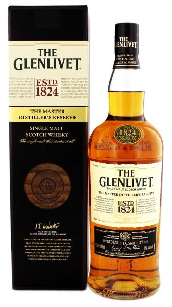 The Glenlivet Single Malt Whisky Master Destiller's Reserve 1,0L 40%