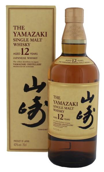 Yamazaki Pure Malt Whisky 12 Jahre, 0,7 L, 43%