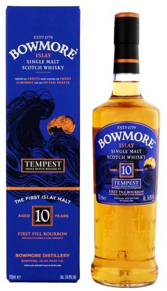 Bowmore Tempest Single Malt Whisky 10 Jahre
