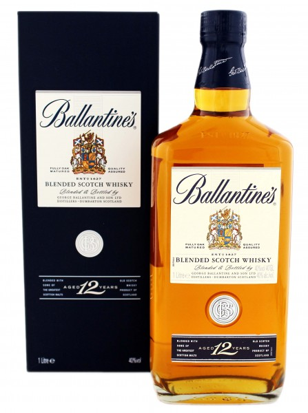 Ballantines Blended Scotch Whisky 12 Years Old