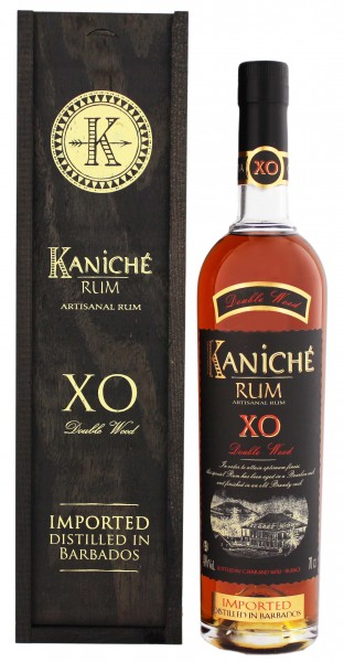 Kaniché Rum XO Double Wood 0,7L 40%