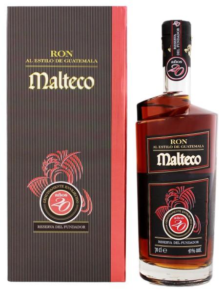 Malteco Rum 20 Jahre, 0,7 L, 41%