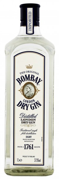 Bombay London Dry Gin 1,0L 37,5%