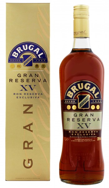 Brugal Gran Reserva XV Exclusiva 1,0L 38%