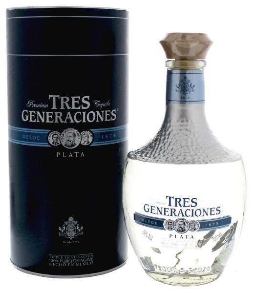 Sauza Tres Generaciones Tequila Plata
