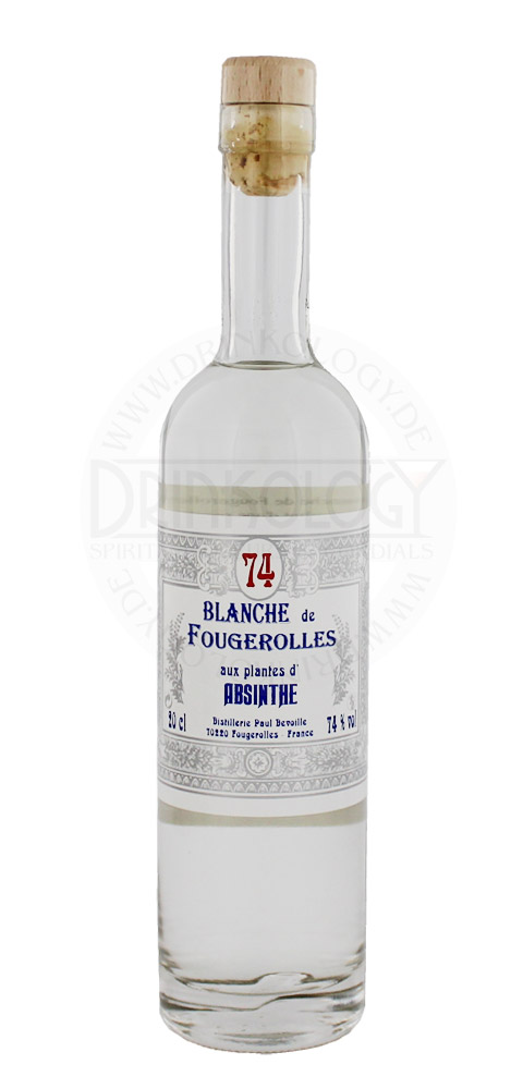 Absinthe Blanche de Fougerolles, 0,2 L, 74%