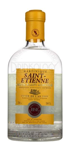 Saint Etienne Rhum Blanc Agricole, 0,7 L, 50%