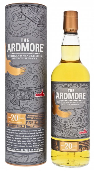 Ardmore Highland Single Malt Whisky 20 Jahre Vintage 1996/2016 0,7L 49,3%