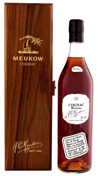 Meukow Cognac Rarissime Tres Vieux, 0,7 L, 41,3%