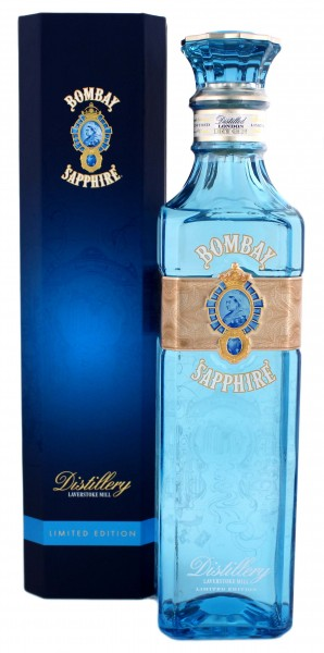 Bombay Sapphire Gin Laverstoke Mill Limited Edition Decanter 0,7L 49%