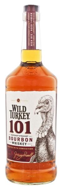 Wild Turkey Straight Bourbon Whiskey 101 Proof 1,0L 50,5%