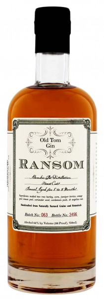 Ransom Old Tom Gin 0,7L 44%