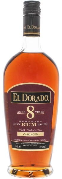 El Dorado Rum 8 Years Old 0,7L 40%