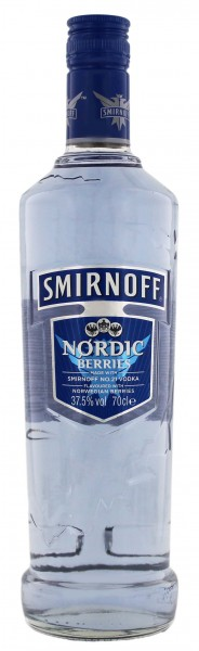 Smirnoff Nordic Berries Vodka 0,7L 37,5%