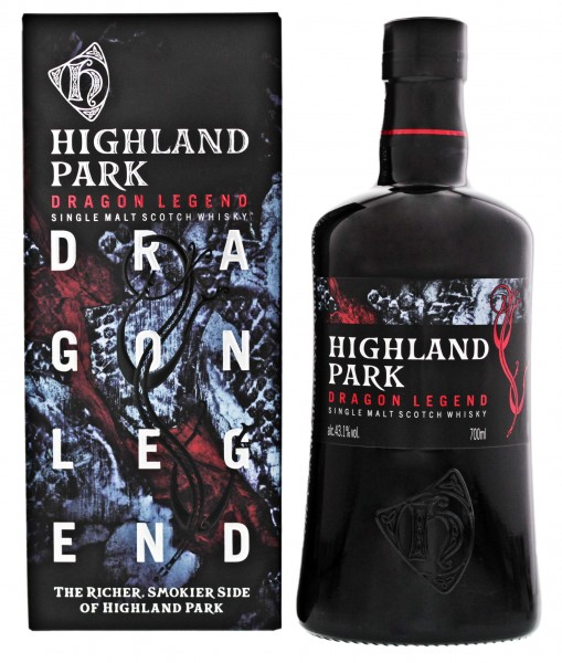 Highland Park Dragon Legend Single Malt Scotch WHisky 0,7L 43,1%