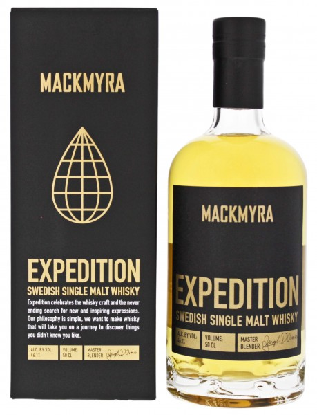Mackmyra Expedition Swedish Single Malt Whisky 0,5L 46,10%