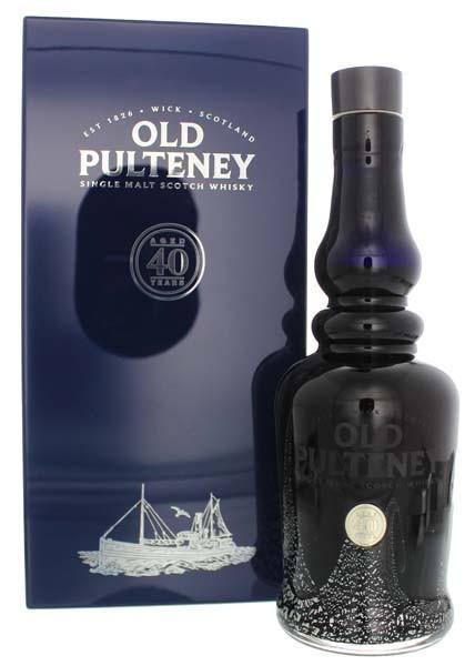 Old Pulteney 40 Jahre Malt Whisky