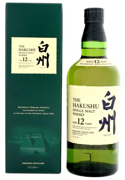 Hakushu Single Malt 12 Jahre 0,7L 43%