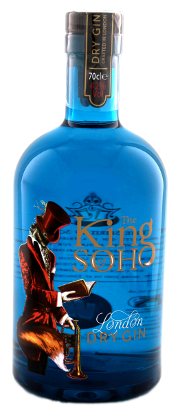 The King of Soho London Dry Gin 0,7L -42%-