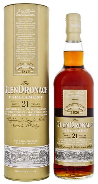 Glendronach Single Malt Whisky Parliament 21 Years Old 0,7L 48%
