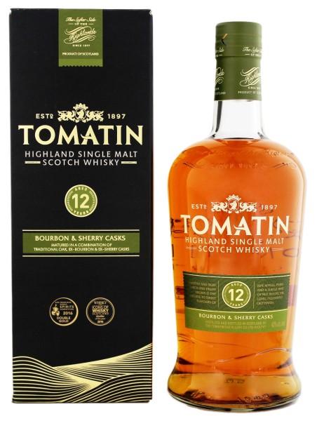 Tomatin Single Malt Whisky 12 Jahre 1,0L 43%