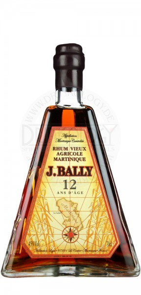 J. Bally Rhum Vieux Agricole 12 Years Old, 0,7 L, 45%