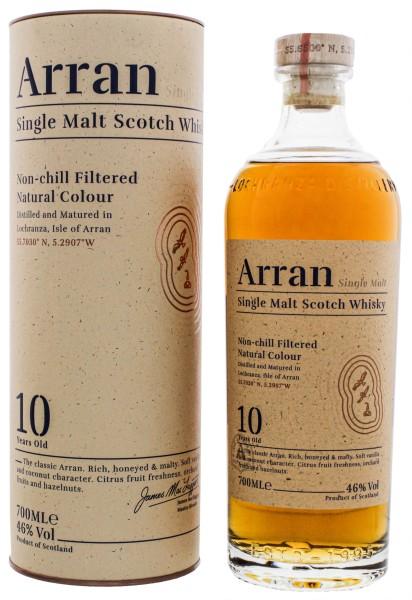 Arran Single Malt Whisky unchillfiltered 10 Jahre 0,7L 46%