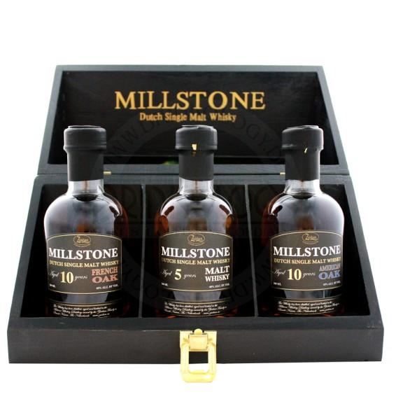 Zuidam Millstone Malt Whisky Trio