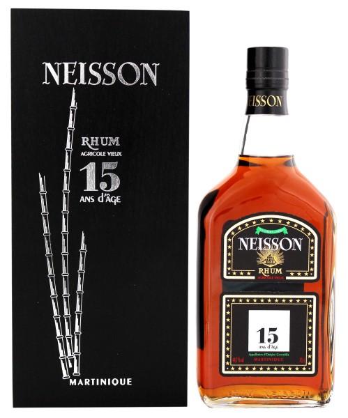 Neisson Rhum Agricole Vieux 15 Jahre 0,7L 44,7%