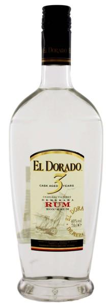 El Dorado Rum 3 Years Old 0,7L 40%