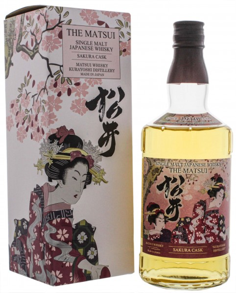 The Matsui Sakura Cask Single Malt Whisky 0,7L 48%
