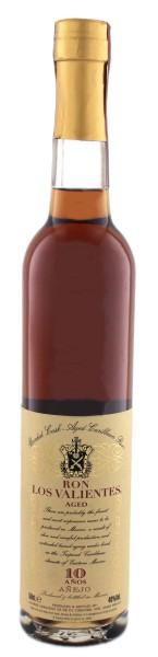Los Valientes Rum Anejo 10 Years Old, 0,5 L, 40%