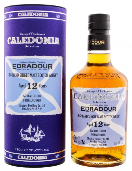 Edradour Single Malt Whisky Caledonia 12 Years Old 0,7L 46%