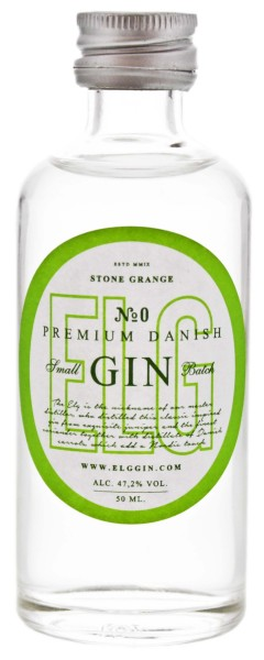 Elg No. 0 Gin Miniatures 0,05L 47,2%