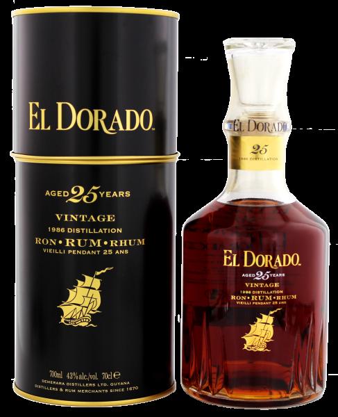 El Dorado 25 Jahre 0,7L 43%