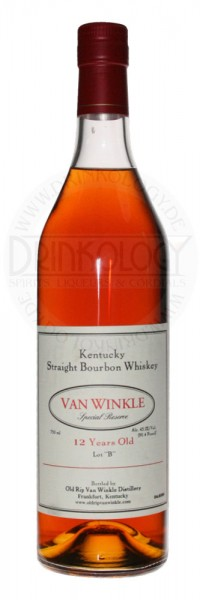 Van Winkle Special Reserve Bourbon Whiskey 12 Years Old 0,75L 45,2%