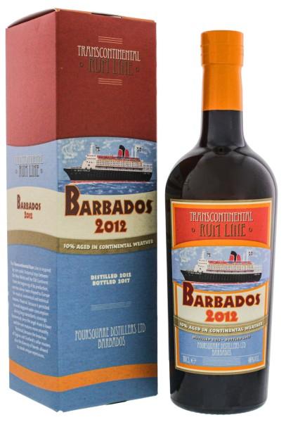Transcontinental Rum Line Barbados Rum 2012/2017 0,7L 46%