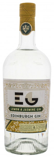 Edinburgh Lemon and Jasmine Gin 1,0L 40%