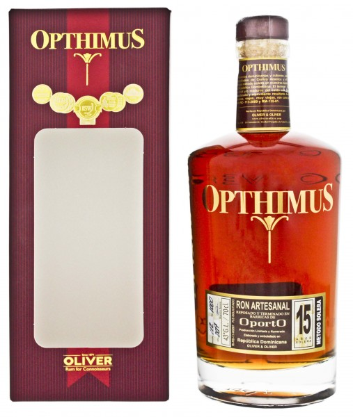 Opthimus Rum 15 Years Old Oporto 0,7L 43%